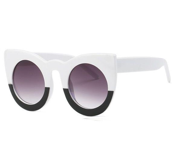 Óculos Fendi cat preto e branco - Black Luxo a7f06e2fbc