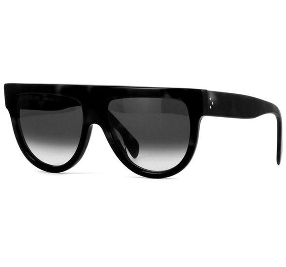 Óculos Celine Shadow preto - Black Luxo c4e06c589d